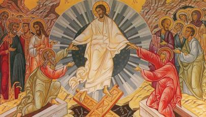 A feltámadási ikon gesztusa