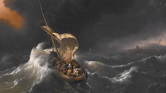 A biblia üzenete: Vihar idején (Mk 4,35–41)