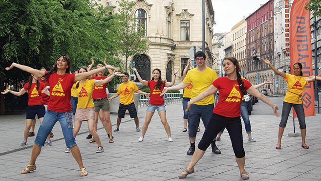 Flashmob Jézusért