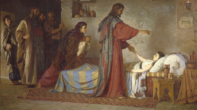 A biblia üzenete: Jézust a szíve vezeti (Mk 5,21–43)