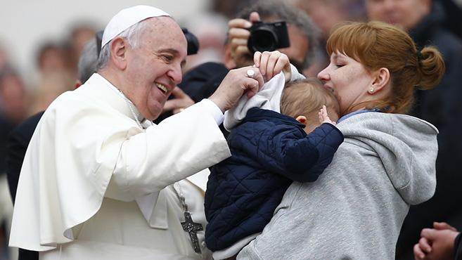 Ferenc pápa a szülői hivatásról