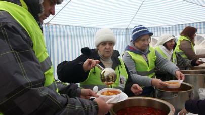Jótékonysági akciósorozat Újpesten – 2015. február 1.