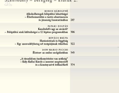 2014/4. Szenvedély – betegség – kiutak 2.