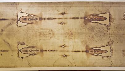 A torinói lepel másolata egy iszlám kiállításon