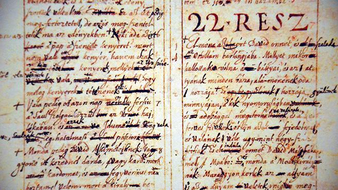 Egy kézirat üzenete