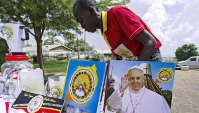 Ferenc pápa Afrikában