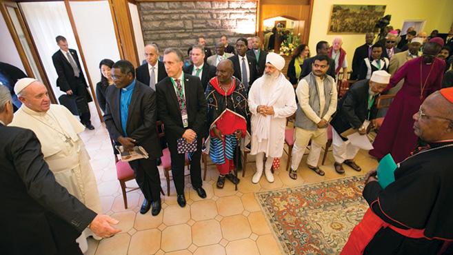 Pápalátogatás – Bátorítás Afrikának