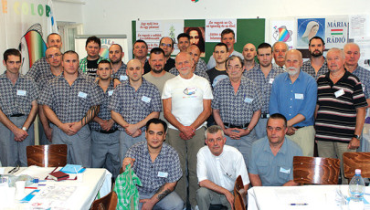 Cursillo-lelkigyakorlat a balassagyarmati börtönben