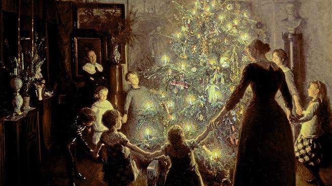 A karácsonyfa és jelképei