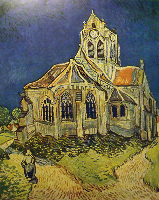 Auvers-i templom (1890)