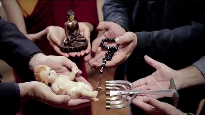 Ferenc pápa üzenete a vallások közti párbeszédért