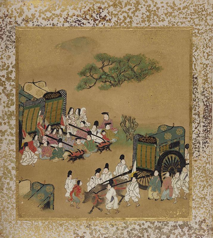A Gendzsi monogatari-album kilencedik lapja