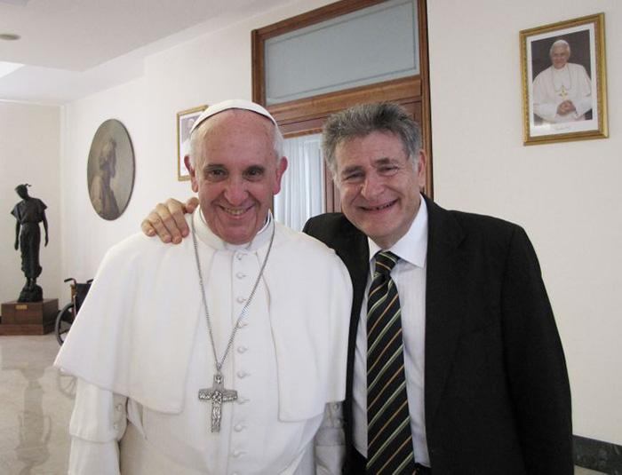 Ferenc pápa és Abraham Skorka rabbi