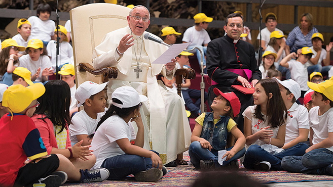 Ferenc pápa válaszai gyerekeknek