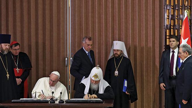 Görögkatolikusok és a havannai nyilatkozat