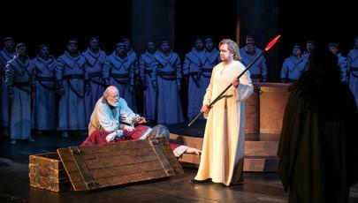 Minden alkalom megtisztulás – Kovácsházi István a Parsifalról