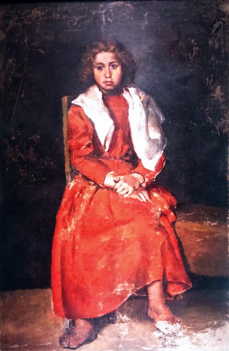 Mezítlábas lányka (1895)