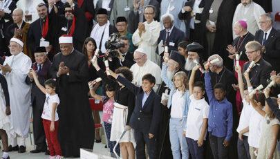 Vallási vezetők közös békefelhívása Assisiben