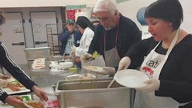 Római hajléktalanoknak főztek a kapuvári ízvadászok
