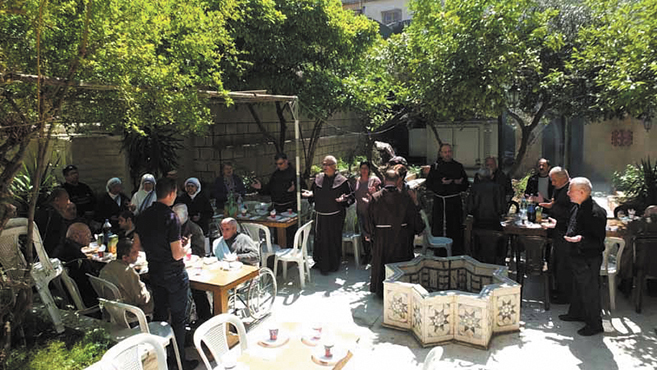 A damaszkuszi ferencesek ajtaja mindenki előtt nyitva áll