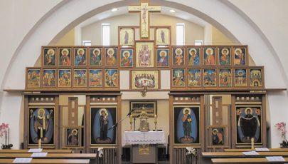 Új ikonosztáz Hajdúszoboszlón