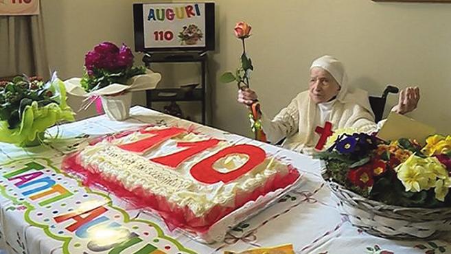 Candida nővér száztíz éves