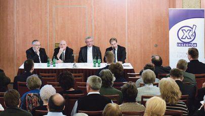 Az egység keresés – ökumenikus fórum Győrben
