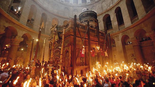 Befejeződött a Szent Sír restaurálása