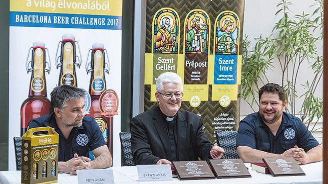 Nemzetközi díjat nyerteka püspöki sörök