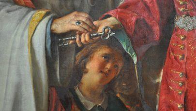 Szent László évére restaurálták a nagyváradi főoltárképet