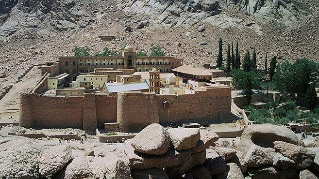 Kereszttűzben a görög ortodox Szent Katalin-kolostor aSínai-félszigeten