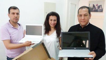 Görögkatolikusok ajándékaa szíriai keresztényeknek