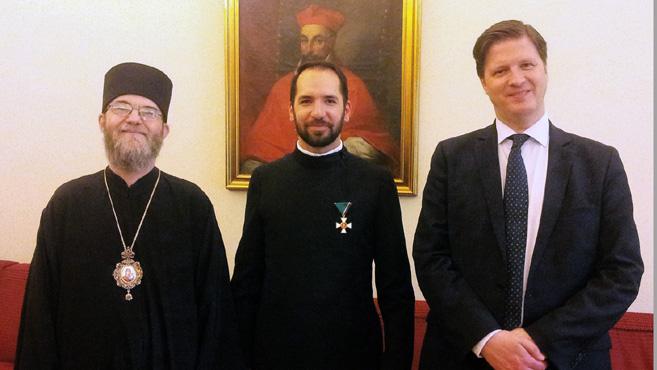 A pápa képviselőjének magyar hangja