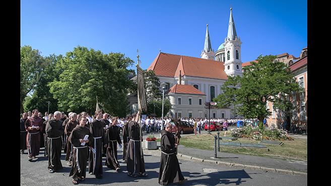 Ferences ünnep Esztergomban