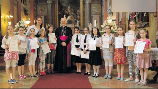 Egyházi iskolák közös tanévzáró Te Deuma