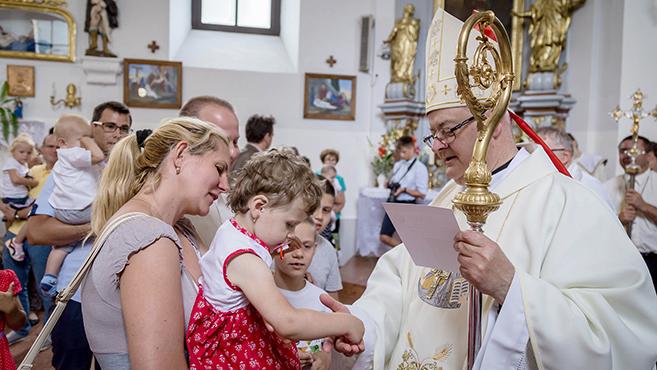 A gyermekekért adtak hálát Vértessomlón