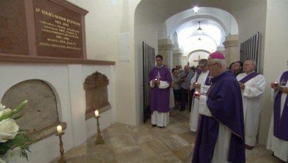 Takács Nándor püspökre emlékeztek Székesfehérváron