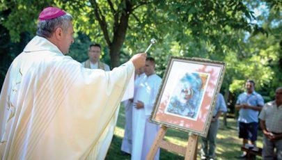 Szent László-kápolna a határon
