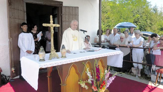 Szent Rókus-búcsút ünnepelteka felvidéki Szepsiben