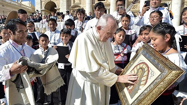 A Szentatya lelki közelségét fejezte ki a mexikóiaknak