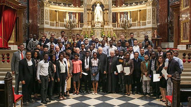 Köszöntötték az üldözött keresztény egyetemistákat