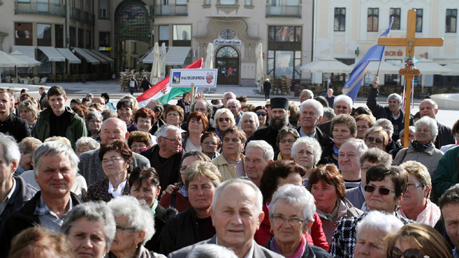 Görögkatolikus zarándoklat Nagyváradra