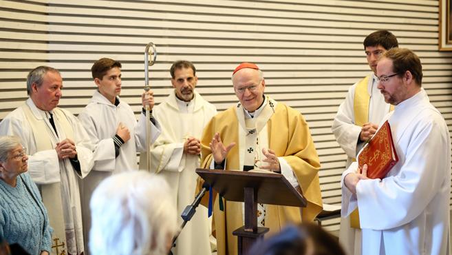 Megáldották a rákoskerti Szent XXIII. János-kápolnát