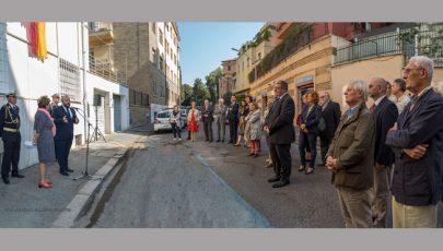 Szőnyi Zsuzsára és a Triznya-kocsmára emlékeztek Rómában