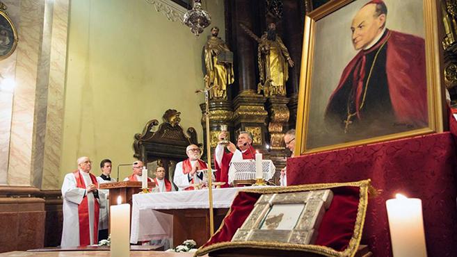 Apor Vilmos püspök boldoggá avatásának 20. évfordulóját ünnepelték Győrben
