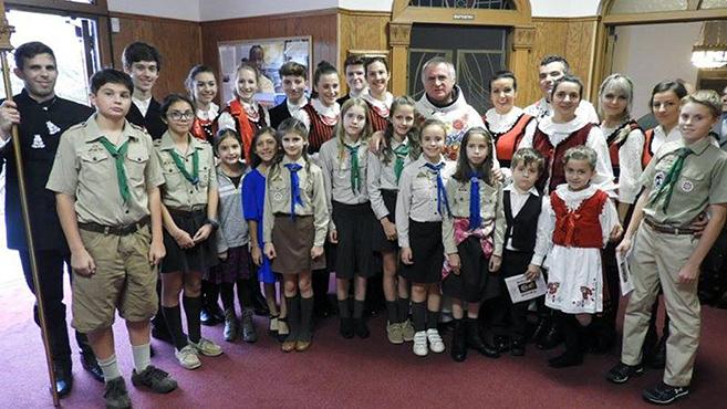 Böjte Csabával ünnepelt a clevelandi magyar közösség