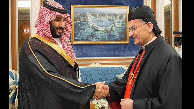 Raï pátriárka történelmi látogatása Szaúd-Arábiában