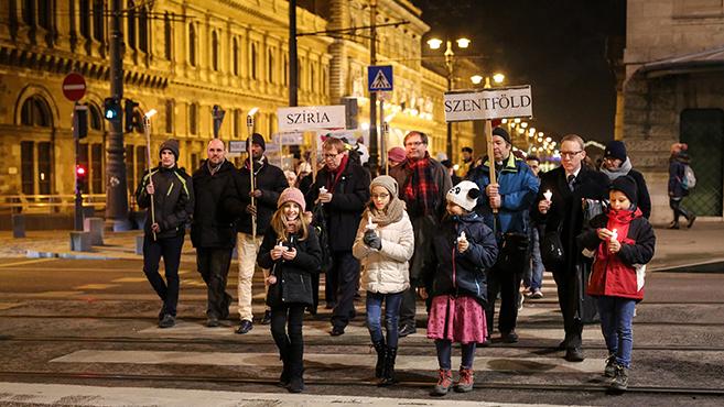 Tegyük Budapestet a béke műhelyévé!