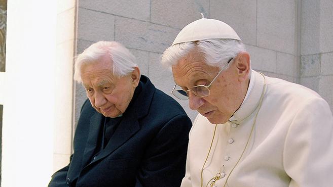 Georg Ratzinger a jó halál kegyelméért imádkozik fivére és önmaga számára