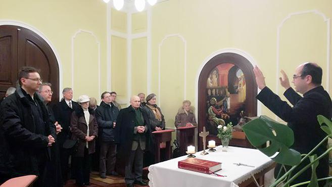 Megáldották a püspök nevében bekopogtató missziósokat
